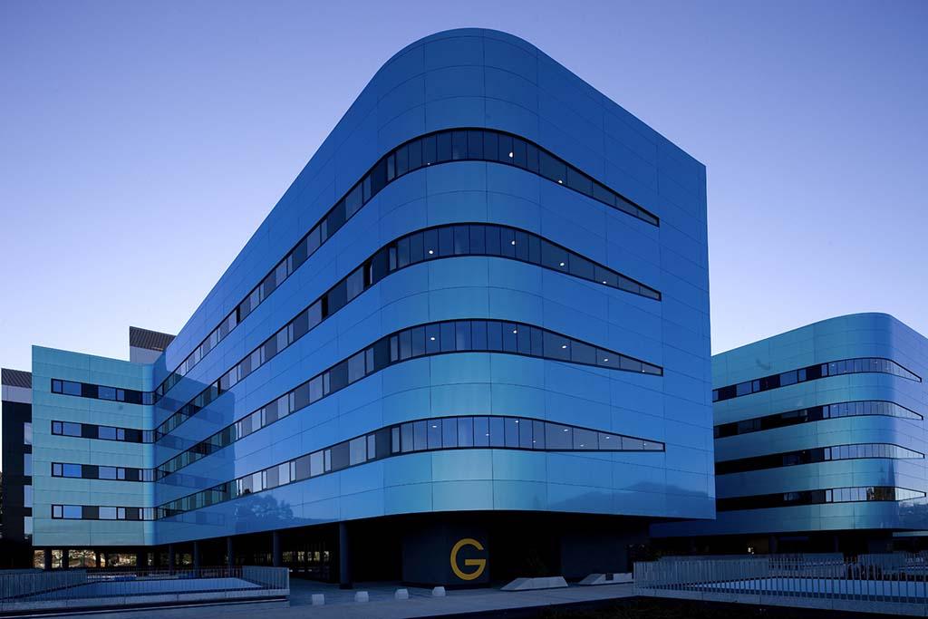 Vista aérea del Hospital Álvaro Cunqueiro de Vigo